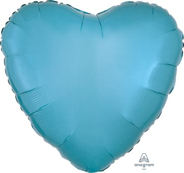 18:Caribbean Blue Heart