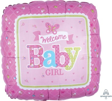 18:Welcome Little One Girl