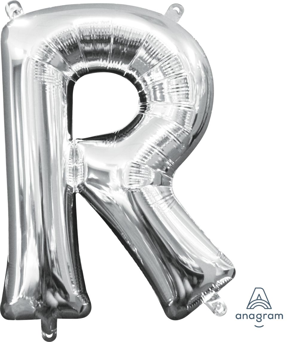 LET:Letter R Silver (Mini CI)