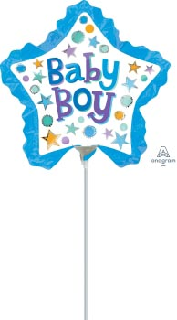 14:Baby Boy Star with Ruffles