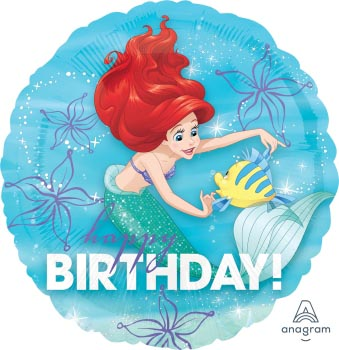 18:Ariel Dream Big Happy Birthday