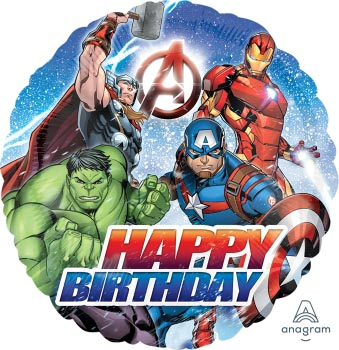 18:Avengers Animated Birthday