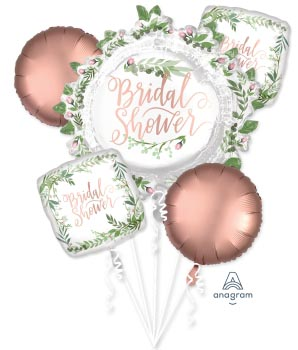 BOU:Love & Leaves Bridal Shower