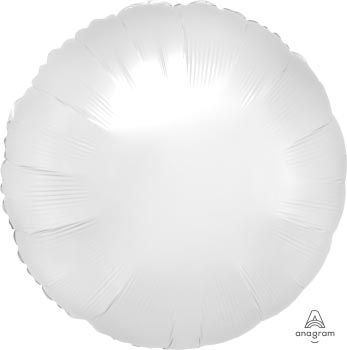 18:Satin Luxe White Satin Circle