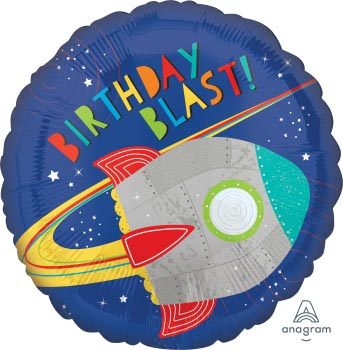 18:Blast Off Birthday