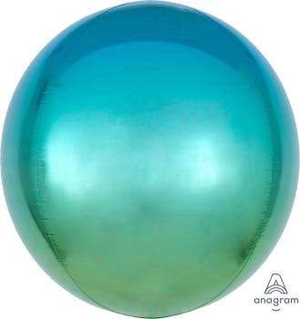 ORB:Ombre Blue & Green