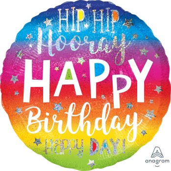 JUM:Hol:Hip Hip Hooray Birthday