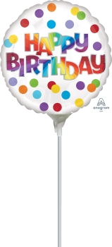 9:Happy Birthday Dots of Color