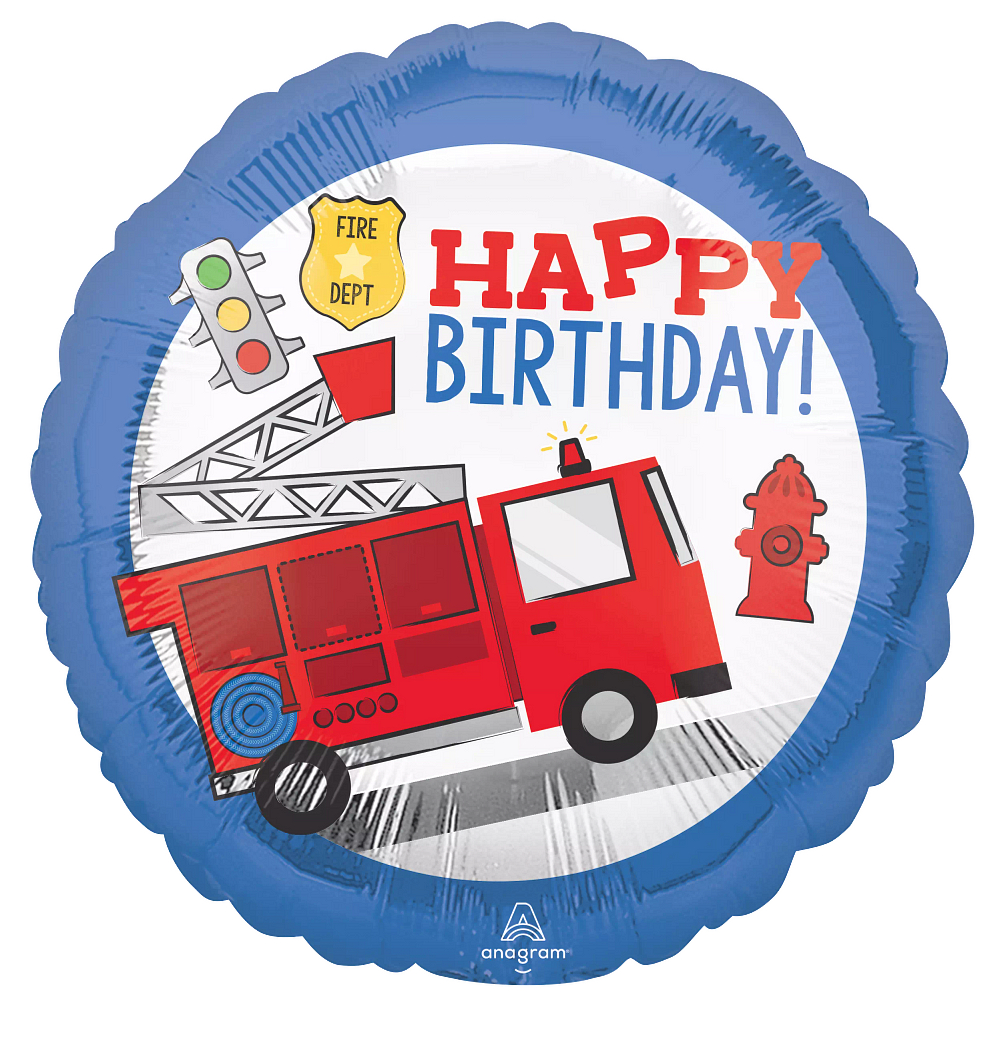 18:First Responder Happy Bday