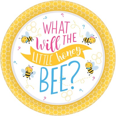 PL:What Will It Bee Paper Plates 26cm 8