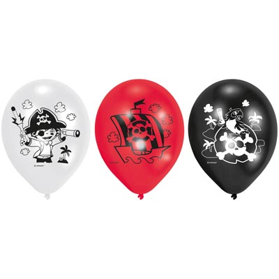 RET:Pirate Latex Balloons 6
