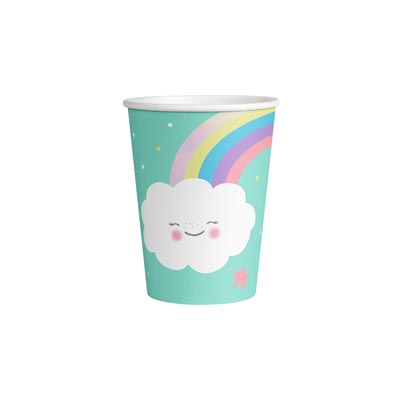 CU:Rainbow & Cloud Paper Cups 8