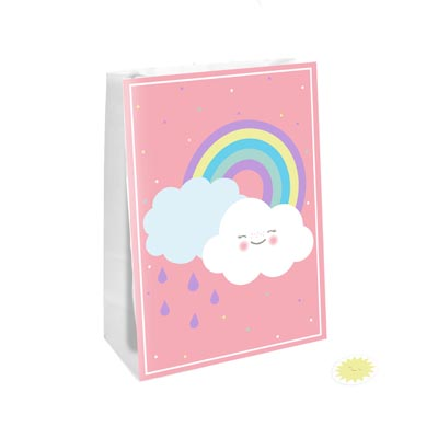 PB:Rainbow & Cloud Party Bag/Stickers 4