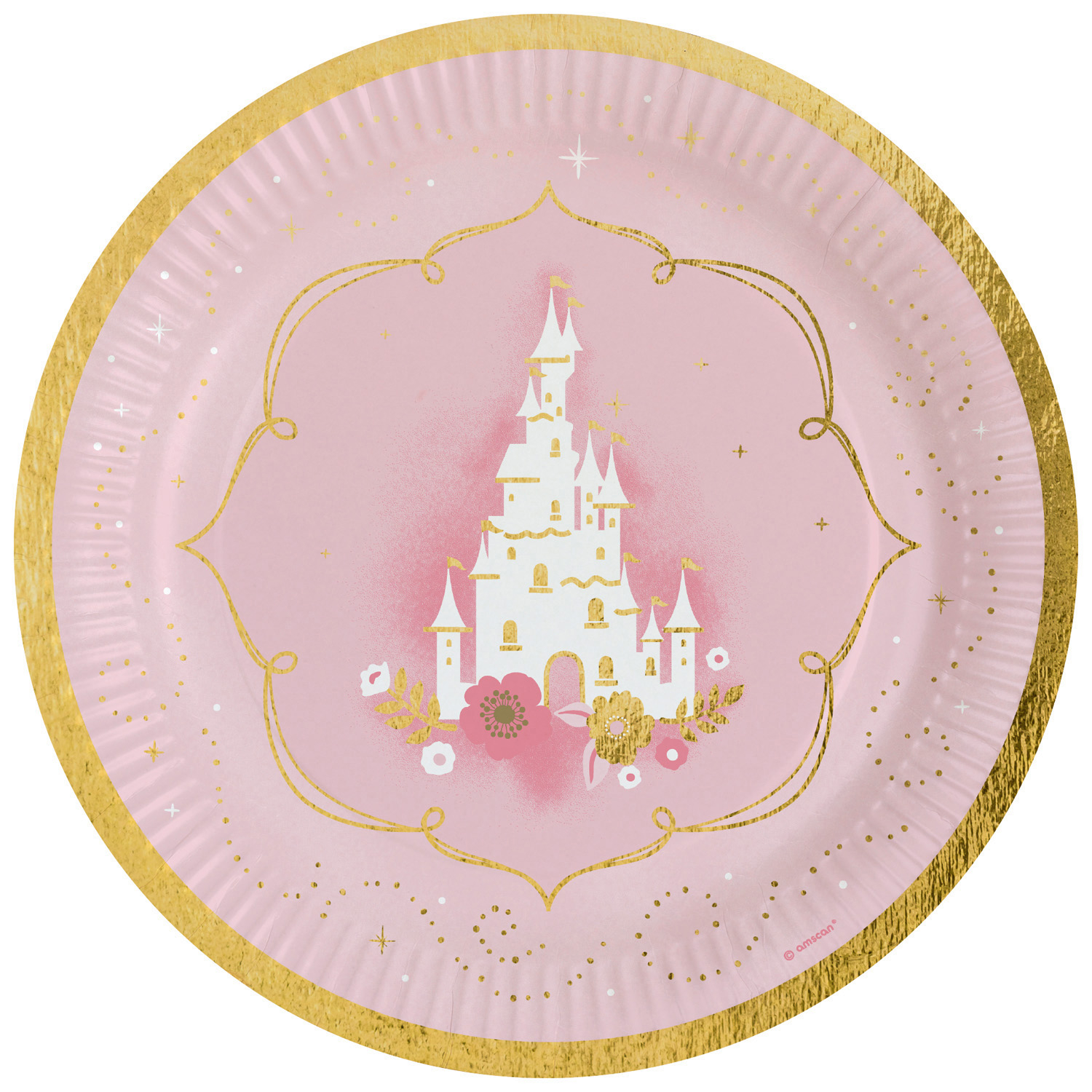 PL:Princess for a Day paper Plates 8