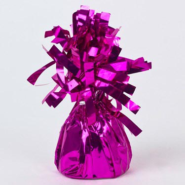 ACC:Balloon Weight Foil : Fuchsia